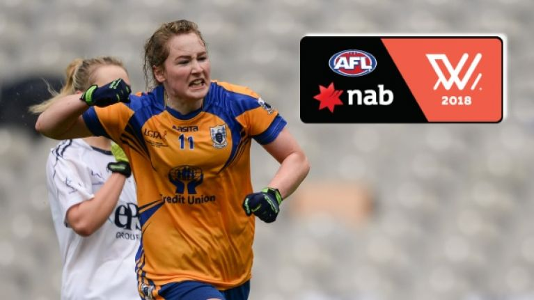 Clare dual star signs with AFL club