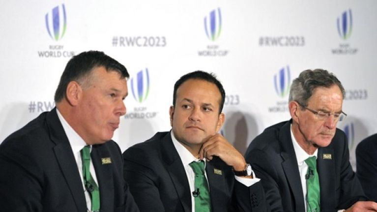 World Rugby chief to consider emerging nations like Ireland for 2027 Rugby World Cup