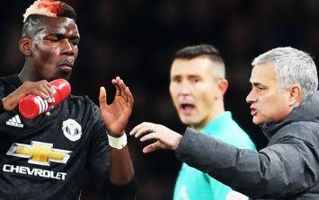 The five United players on Mourinho's side