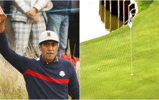 Tony Finau breaks European hearts with luckiest bounce of the Ryder Cup