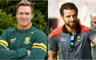 Springboks legend Jean De Villiers reached out to Tom Parsons after his horrific knee injury