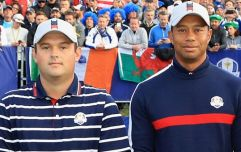 Patrick Reed didn't exactly do Tiger Woods any favours at his press briefing