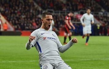 Eden Hazard reveals why he will never do a knee slide celebration again
