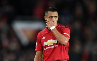 Alexis Sanchez dropped for Manchester United's game at West Ham