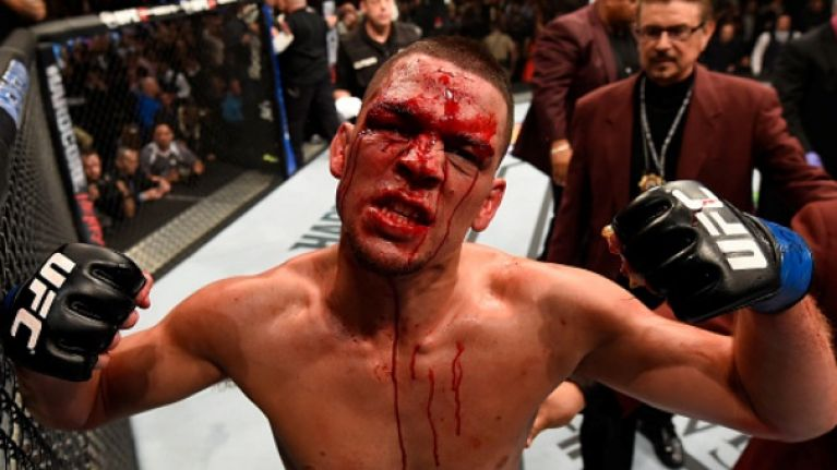 Nate Diaz receives harsh criticism from the best fighter to have never fought in the UFC