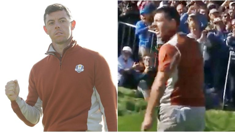 Rory McIlroy delivers perfect response to loud-mouth American fan