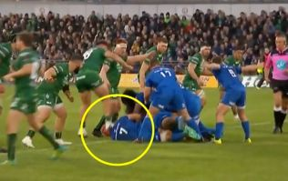 Connacht prop gets straight red card for awful head-stamp on Josh van der Flier