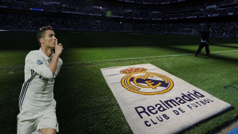 "Bernabeu breaks into chants of ""Ronaldo, Ronaldo"" during goalless Madrid derby"