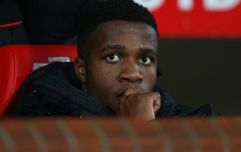 Wilfried Zaha speaks about those rumours with David Moyes' daughter