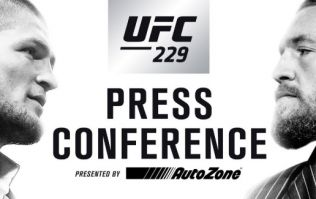 Watch Khabib vs McGregor press conference HERE