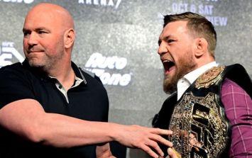 Dana White defends decision to close Conor McGregor-Khabib Nurmagomedov press conference to public