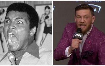 Dana White compares Conor McGregor to Muhammad Ali after press conference
