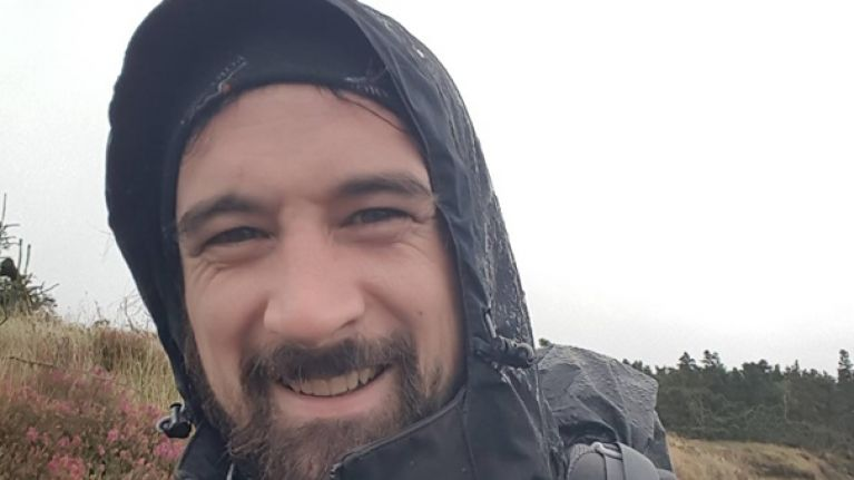 Meet the man that hiked from Cork to Belfast in honour of his fallen friends