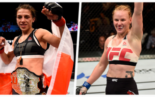 Valentina Shevchenko and Joanna Jedrzejczyk to fight for UFC women's flyweight title