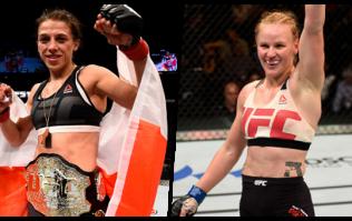 Valentina Shevchenko and Joanna Jedrzejczyk to fight for UFC women's flyweight title
