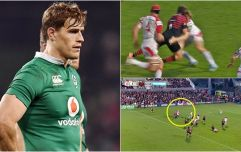 """I remember pushing the doctor away and thinking, ''Why is he dragging me to the touchline? Is he not on our team?!'"" - Andrew Trimble"