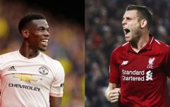 Graeme Souness has chosen between James Milner and Paul Pogba