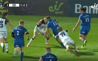James Lowe finishes off brilliant Leinster try after great Jordan Larmour skill
