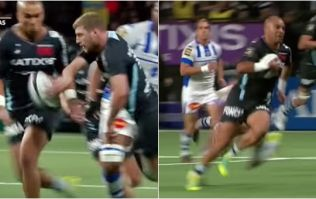 Simon Zebo and Finn Russell are doing wicked deeds over in Paris