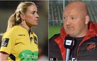 Bernard Jackman labels Joy Neville's yellow card decision 'a joke' after Dragons win