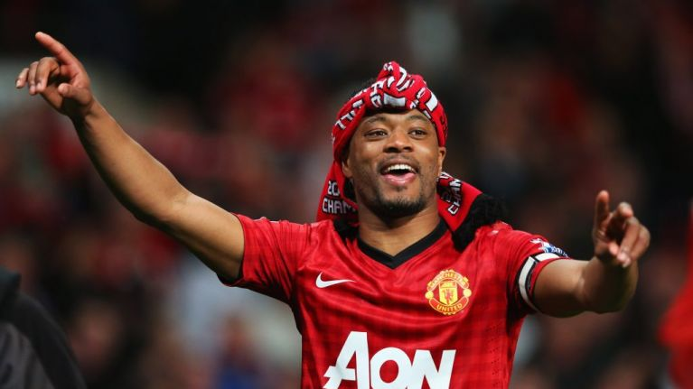 Patrice Evra fondly remembers the time he took a dump in Gerard Pique's shoes