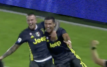 Cristiano Ronaldo scores late winner for Juventus