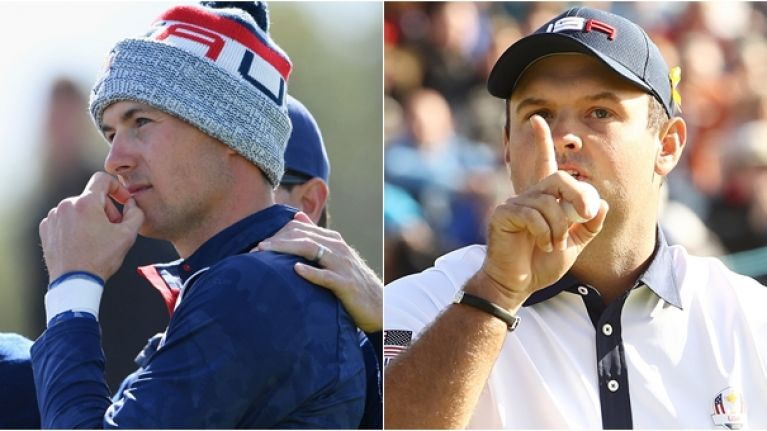 Patrick Reed's wife sensationally suggests Jordan Spieth 'did not want to play' with him