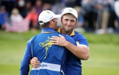 Jon Rahm's reaction to beating Tiger Woods was absolutely immense