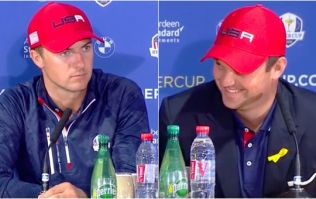 Final question of Ryder Cup press conference has Team USA in all sorts of trouble
