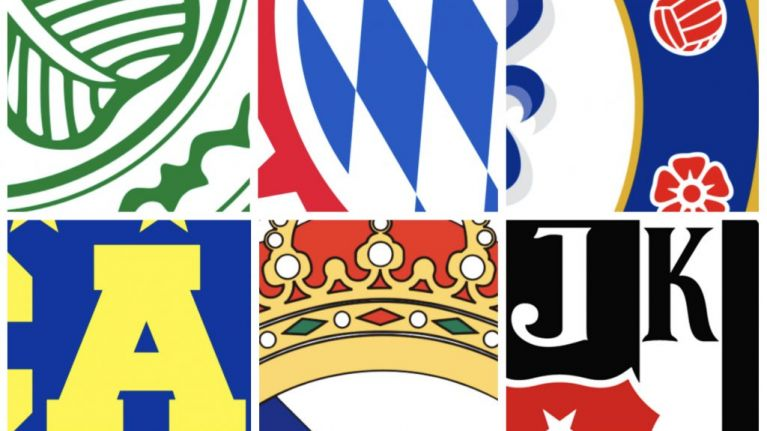 Can you work out which football club badge belongs to these 2017 champions?