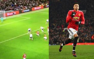 WATCH: Jesse Lingard scores an absolute screamer to help Man United beat Derby
