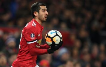 José Mourinho apologises to Henrikh Mkhitaryan for half-time substitution