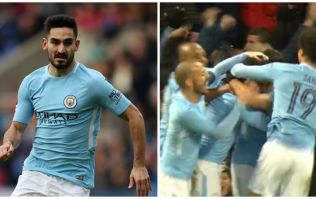Ilkay Gundogan proves he's an absolute baller with outrageous backheel assist for Sergio Aguero