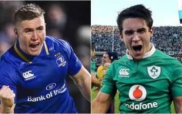 Joey Carbery response to Jordan Larmour observation was pure class