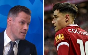 Jamie Carragher has some wise words for Liverpool as Coutinho leaves