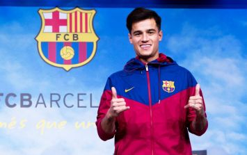 Philippe Coutinho will reportedly wear the number seven shirt for Barcelona