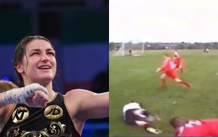 Katie Taylor once gave a team a rude awakening on what it's like to play against a girl