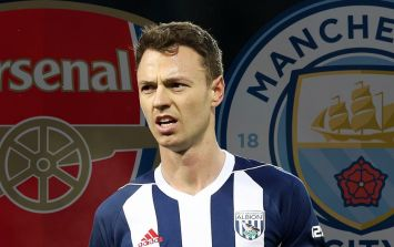 Jonny Evans could be the subject of a swap deal as Arsenal and Manchester City chase defender