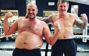 Ketogenic diet has seen Tyson Fury shed four stone