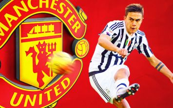 Manchester United fans suddenly very excited about signing Paulo Dybala after promising report