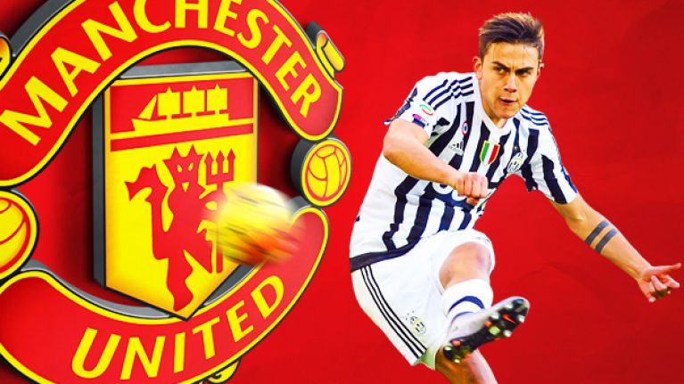 7f3a2cb0ed7f Manchester United fans suddenly very excited about signing Paulo Dybala  after promising report