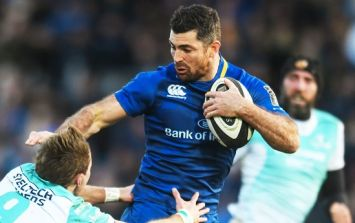 12 and a half years after his Leinster debut, Rob Kearney proved he ain't going nowhere yet