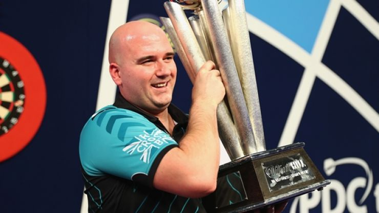 Rob Cross had a sweet yet unusual breakfast before he beat Phil Taylor