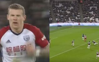 James McClean has scored an incredibly flukey screamer