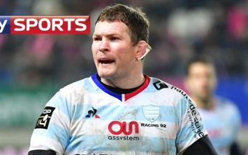Donnacha Ryan had everyone in stitches with his post-match comment to Sky Sports
