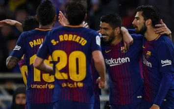 WATCH: Luis Suarez's goal for Barcelona against Real Sociedad was a thing of rare beauty