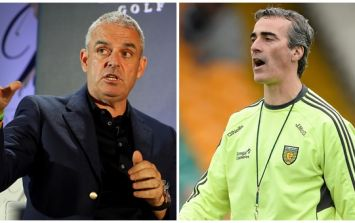 Paul McGinley reveals why ex-Donegal boss Jim McGuinness isn't coming back to Gaelic football
