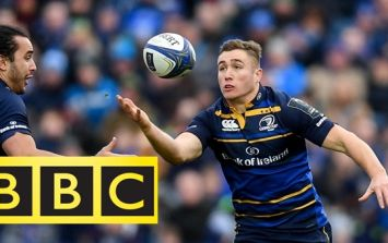 Jordan Larmour centre of attention on leading BBC rugby show