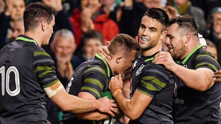 Ireland squad named for Six Nations