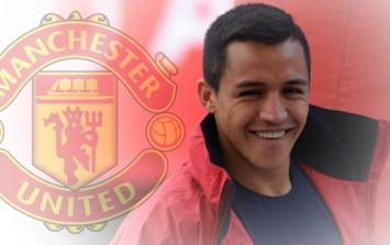 Alexis Sanchez has basically confirmed his Manchester United move